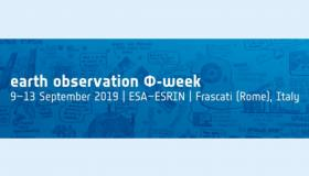 Join Us at ESA EO Phi-Week 2019