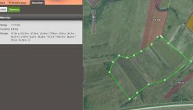 Arkod web viewer - measurements