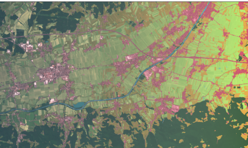 Land Cover Classification with eo-learn